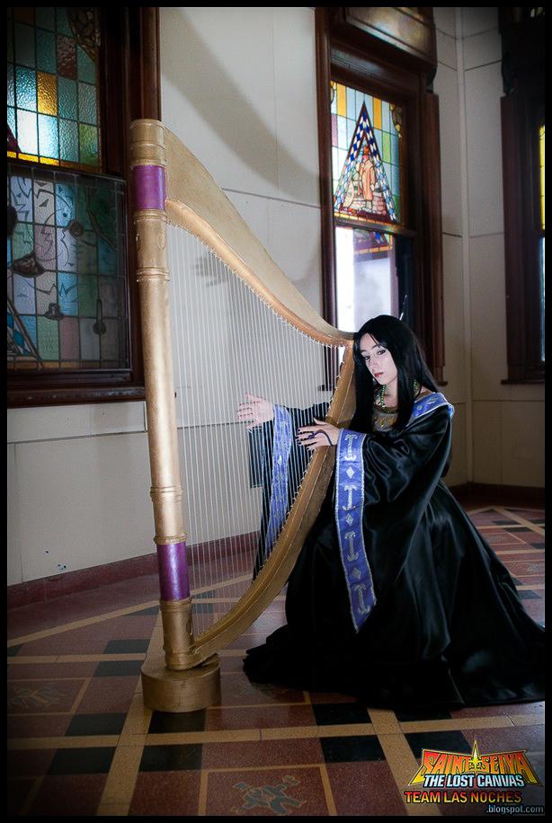Saint Seiya: Pandora's harp by Neferet-Cosplay
