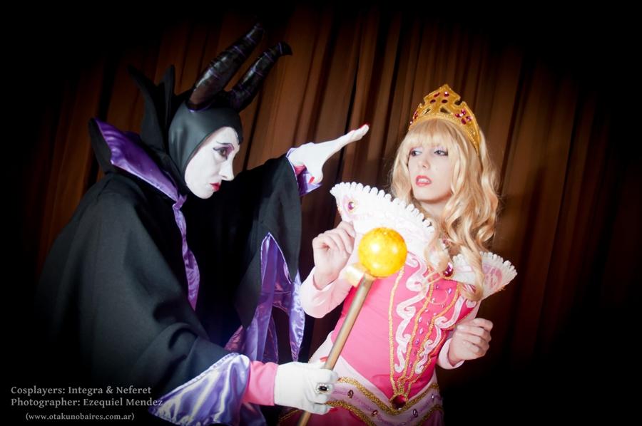 Princess Aurora and Ma...