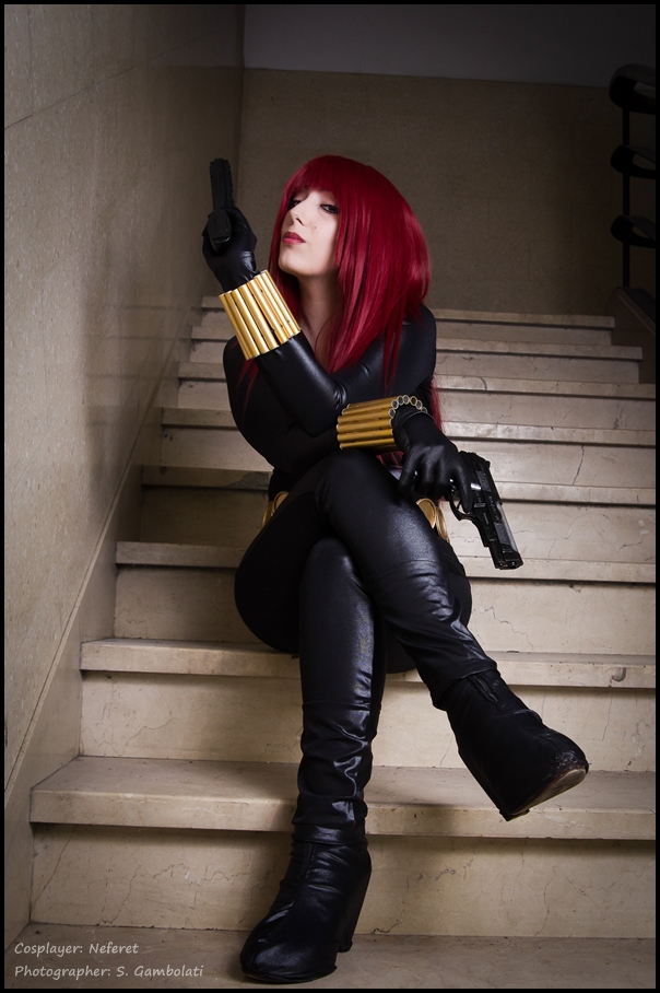 Black Widow - Natasha Romanoff by Neferet-Cosplay