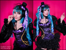 Hatsune Miku: Sandplay  Singing of the Dragon by Neferet-Cosplay