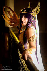 Athena - Saint Seiya Legend of Sanctuary by Neferet-Cosplay