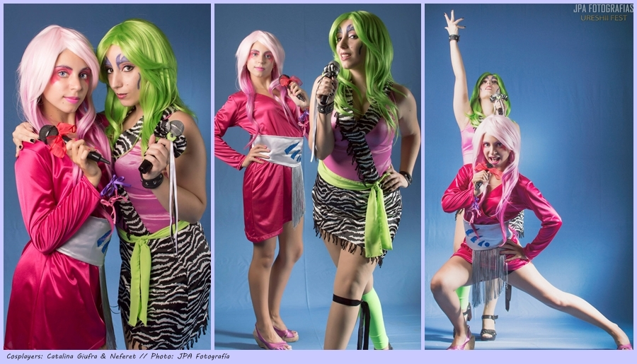 There is A Melody Better (Jem and The Holograms) by Neferet-Cosplay