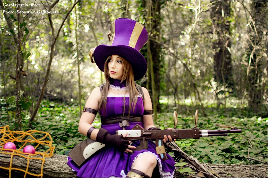 Caitlyn - League of Legends by Neferet-Cosplay
