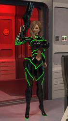 Chelsea Sci-fi concept suit