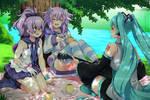 [Com.] Afternoon picnic