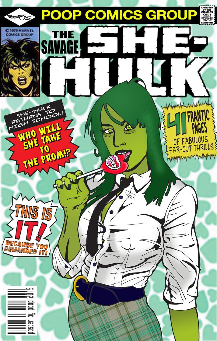 She-hulk by poopDC