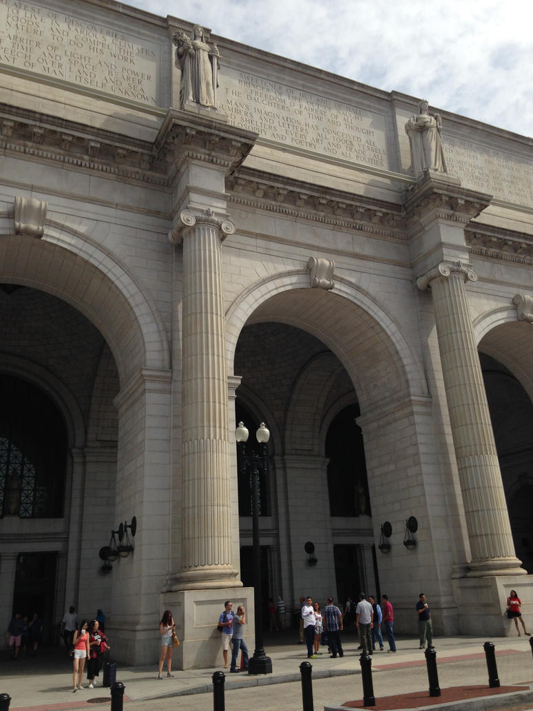 Union Station Exterior 3 by poopDC