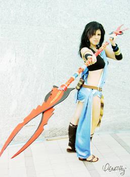 Oerba Yun Fang - Weapon of Choice