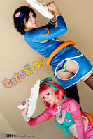 Muchi Muchi Pork Cosplay by otakitty