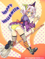Halloween-tan by otakitty