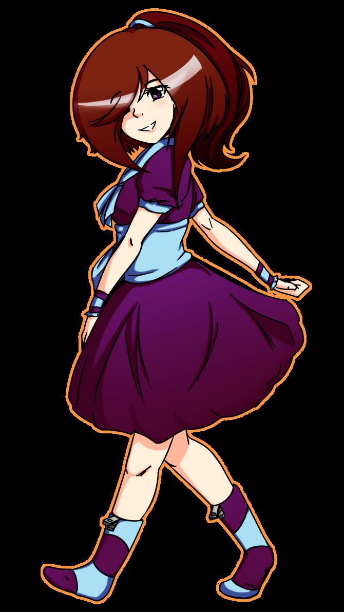 Keira Yumene [Updated Concept Art] by hella-K