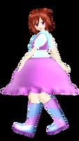 Keira Yumene [MMD Model DL] by hella-K