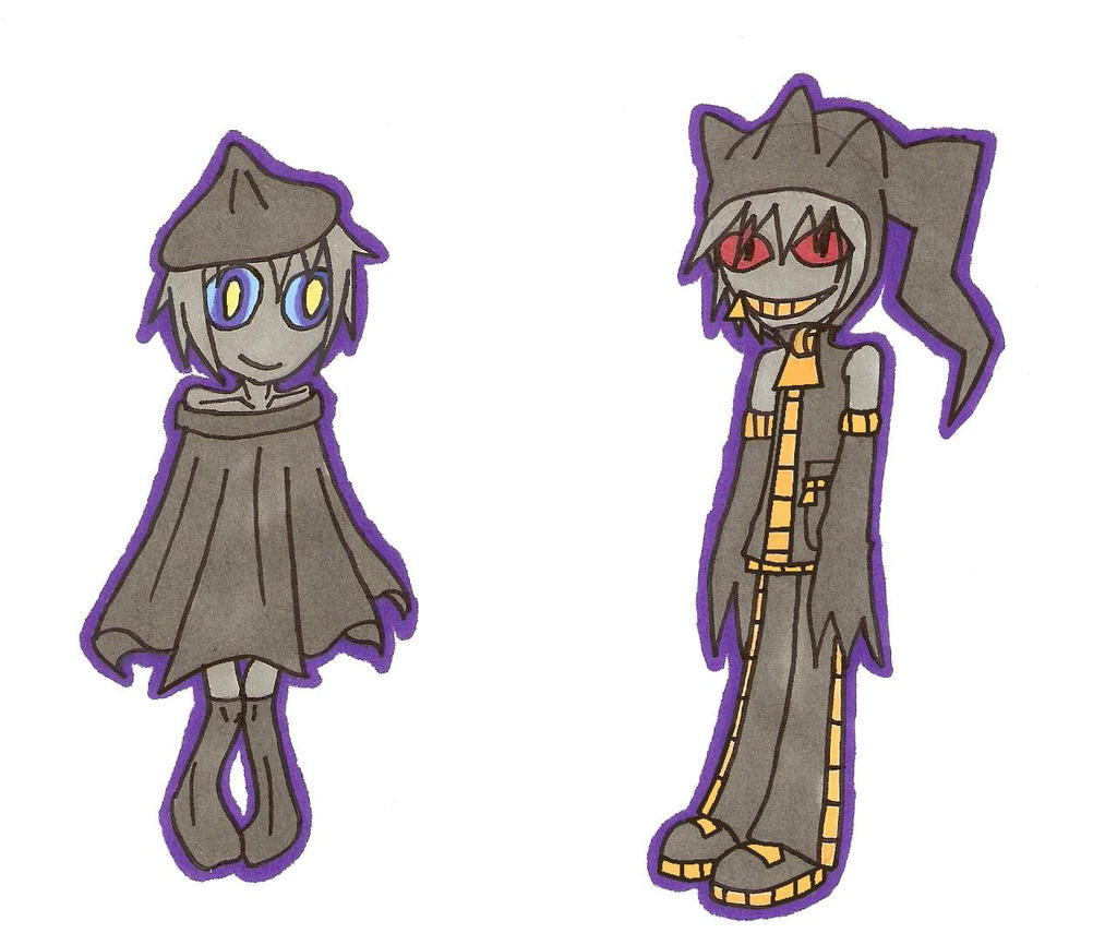 Shuppet and Banette Gijinka by Jonana-senpai on DeviantArt
