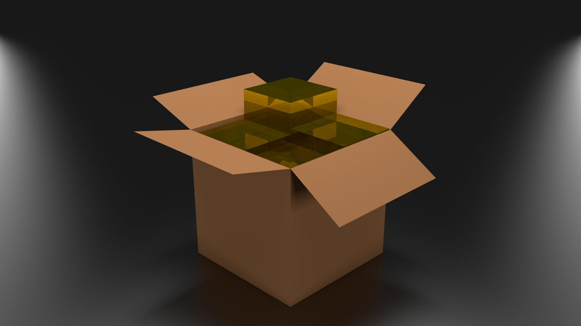 Ark (a KDE archiver) logo in 3D by adriens33