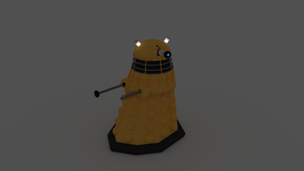 3D Dalek model by adriens33