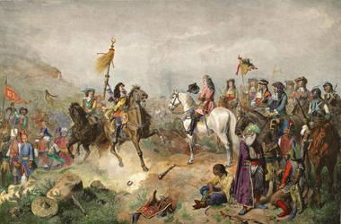 Ahmed II We Battle of Mohaacutcs In 1687 by eduartinehistorise