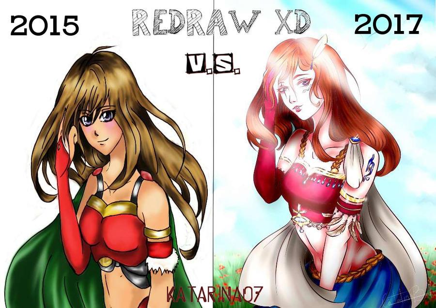 Redraw challenge by Katarina07