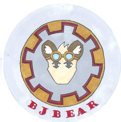 BJ Bear Badge by whaletrainer2002