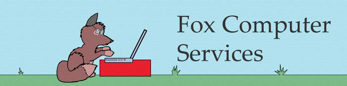 Fox Computer Services Logo by whaletrainer2002