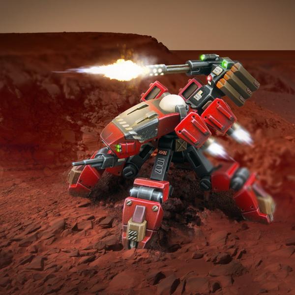 Caprician Meggido Combat Mount by KodiakDestroyer