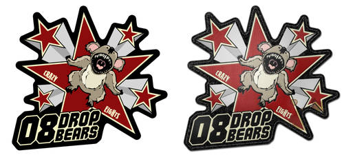 Drop Bears Patch