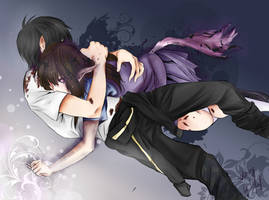 Yato and Hiyori - Noragami (chapter 51)