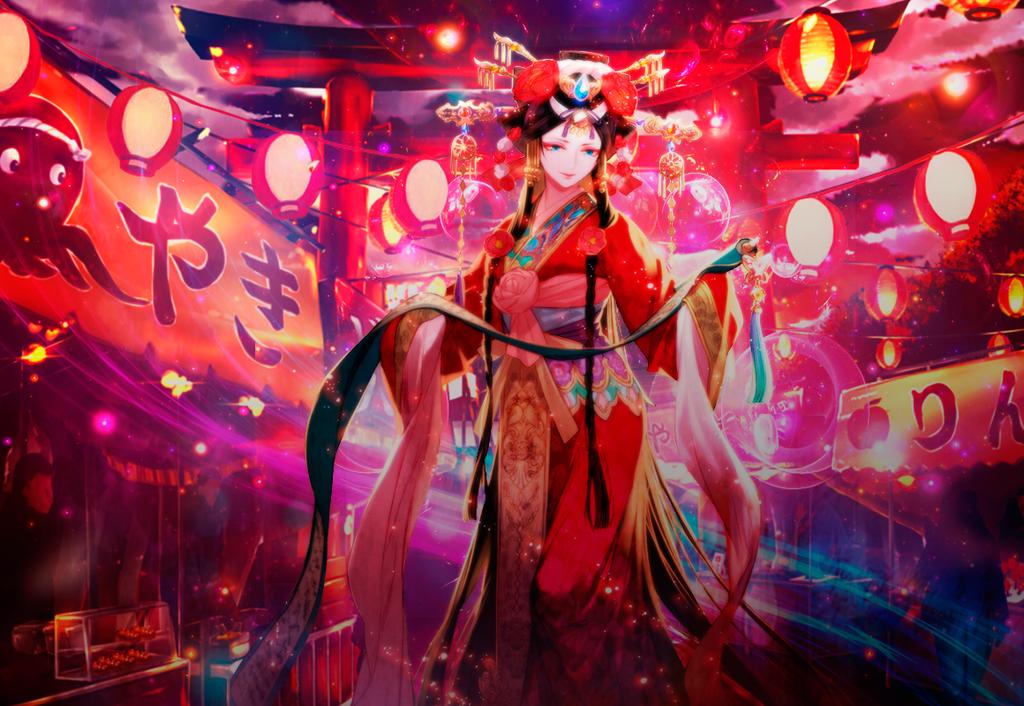 Wallaper-Geisha-Japon by Sonata121
