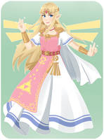 Princess Zelda by TheChildrenReason