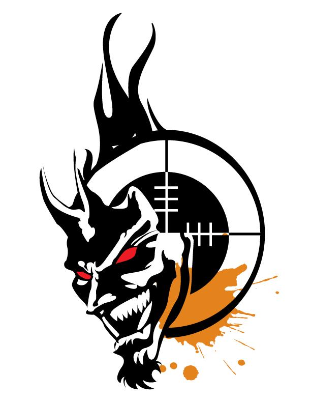 laughing devils logo by seaedge on deviantart rh seaedge deviantart com devil looks like devil logo clip art