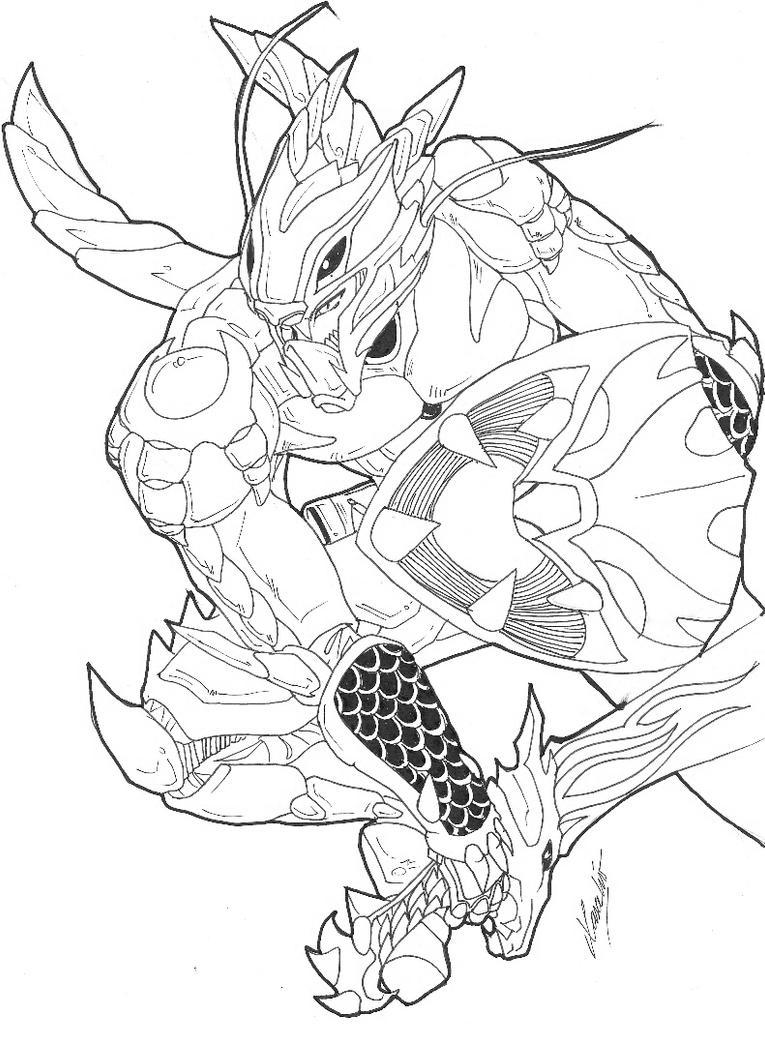 Dragon Knight by Seaedge
