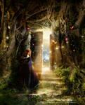 A Knock at the Door -Illustr.-