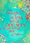 The Beautiful Is...