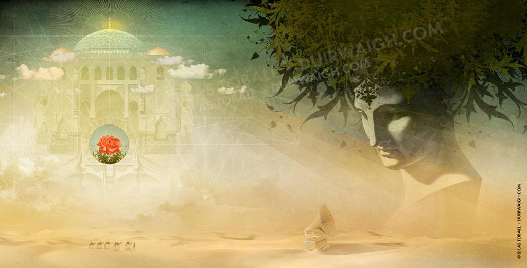 Desolation Rose - Gatefold Illustration