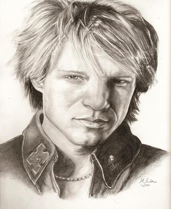 Bon Jovi by artistkitty88
