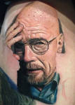 Walter White Tattoo (in Progress) by Pony Lawson