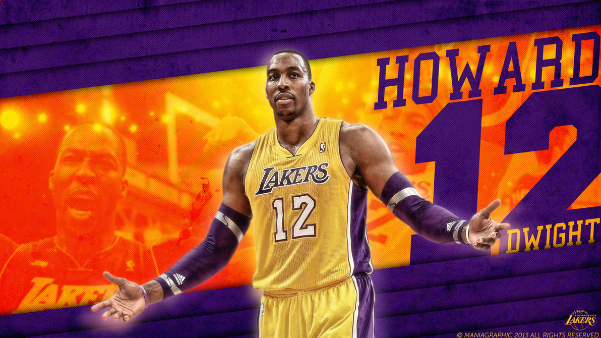 Dwight Howard Wallpaper by ManiaGraphic