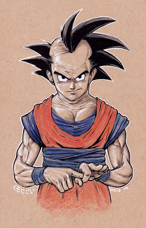 Old Fart Goku by GeorgeLiquor