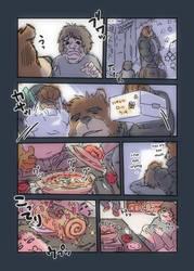 Morenatsu Short Comic 11 by UCHIDER
