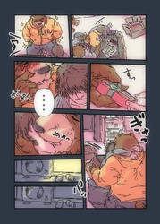 Morenatsu Short Comic 12 by UCHIDER
