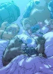 Morenatsu Short Comic 13 by UCHIDER