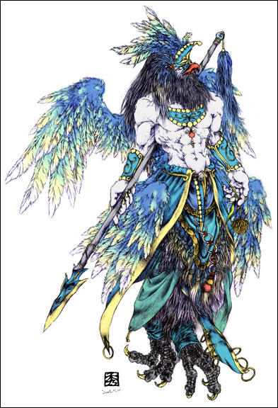 Garuda the God by UCHIDER