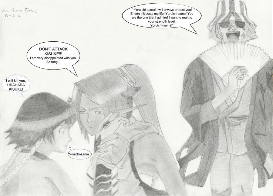 Yoruichi vampire sex scene 4