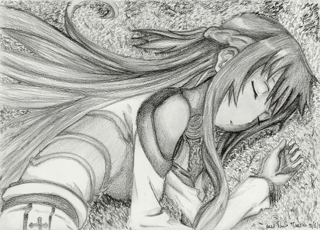 Sword art online sleeping asuna by mangaslover