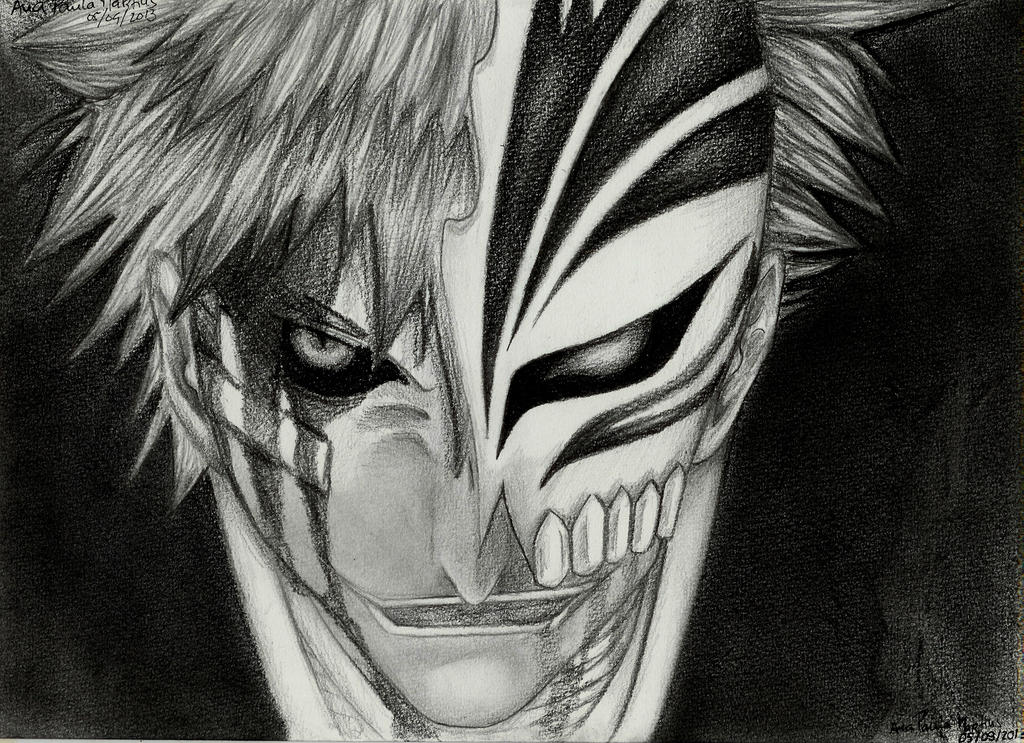 Ichigo (1st Stage Of His Hollow Mask) By