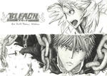 Bleach - Ichigo and Hitsugaya