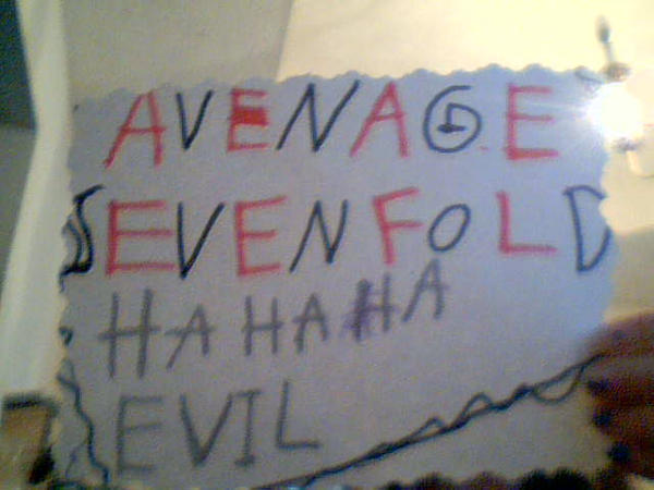 Avenged SevenFold by Sakurafangurl2009