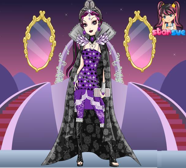 Raven Queen on Legacy Day by Sakurafangurl2009 on DeviantArt