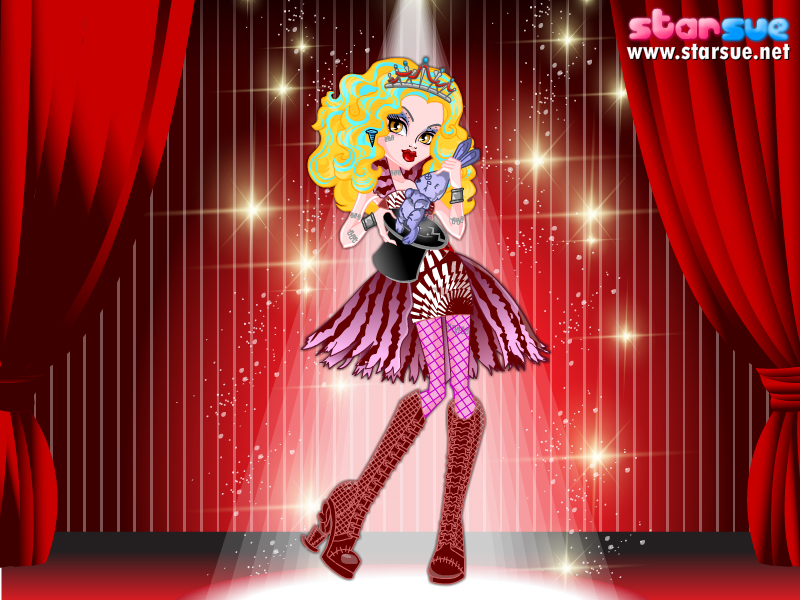 Lucy as Freak du Chic Frankie Stein by Sakurafangurl2009