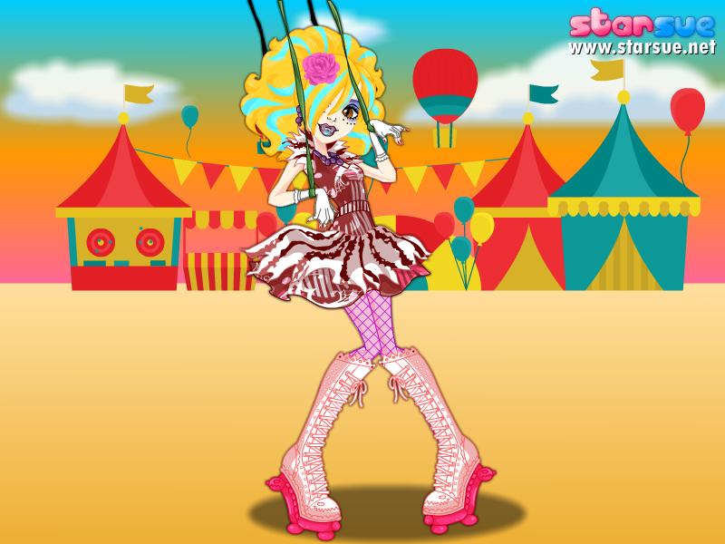Lucy as Freak du Chic Honey Swamp by Sakurafangurl2009