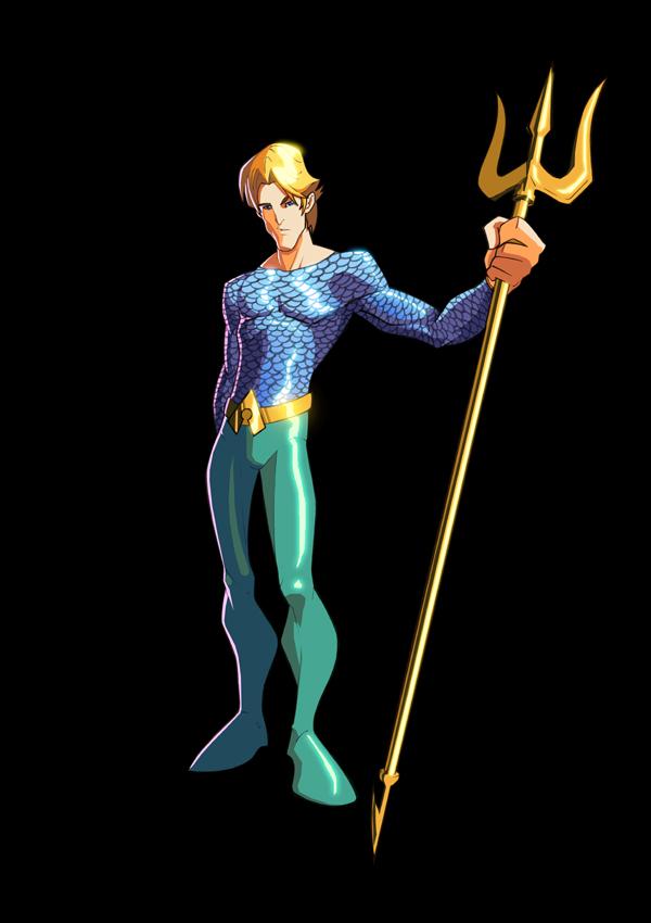 Aquaman by Rudesenhos coloured